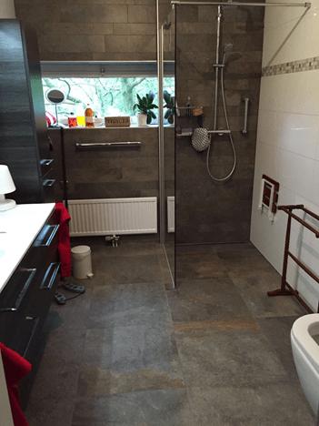 Badkamer na de verbouwing