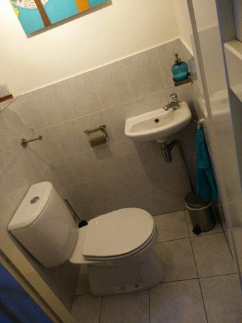 Toilet voor de verbowuing