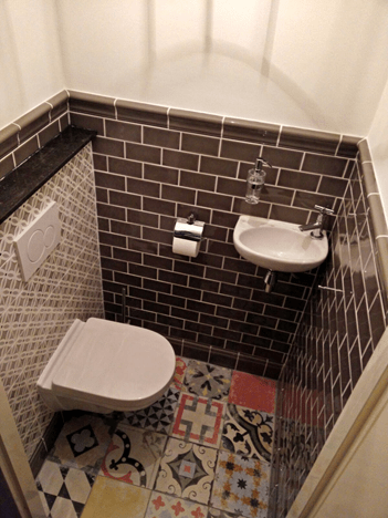 Toilet na de verbouwing